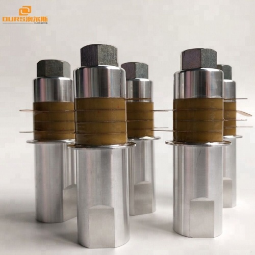 PZT-8 Piezoelectric Ceramic Transducer 15K 2000W For Ultrasonic Welding Machine