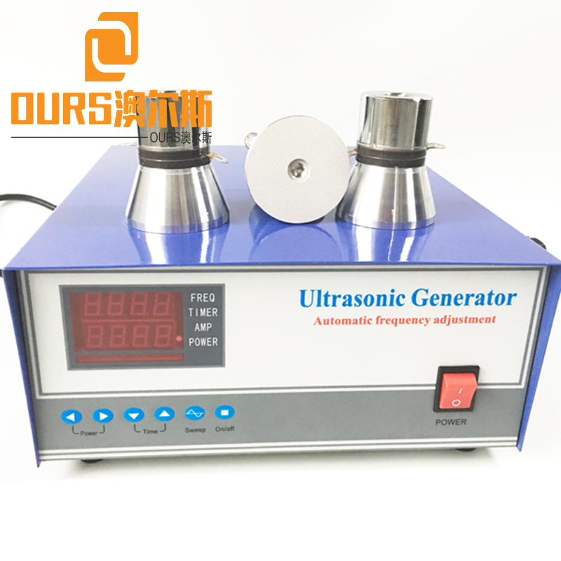 High Performance 3000W 40KHz Ultrasonic Cleaning Generator With Frequency Tracking Function