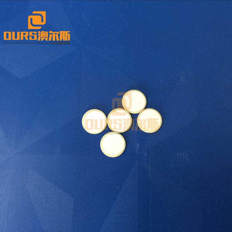 27.4*8.9mm Piezoelectric Ceramic For disc piezo ceramics ,disc piezo ceramics materials