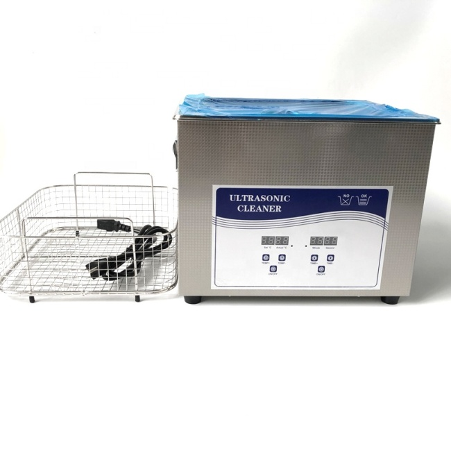Vibration Transducer Ultrasonic Cleaner For Industrial 15L Big Capacity Ultrasonic Cleaning Device For Electronic Parts Cleaning