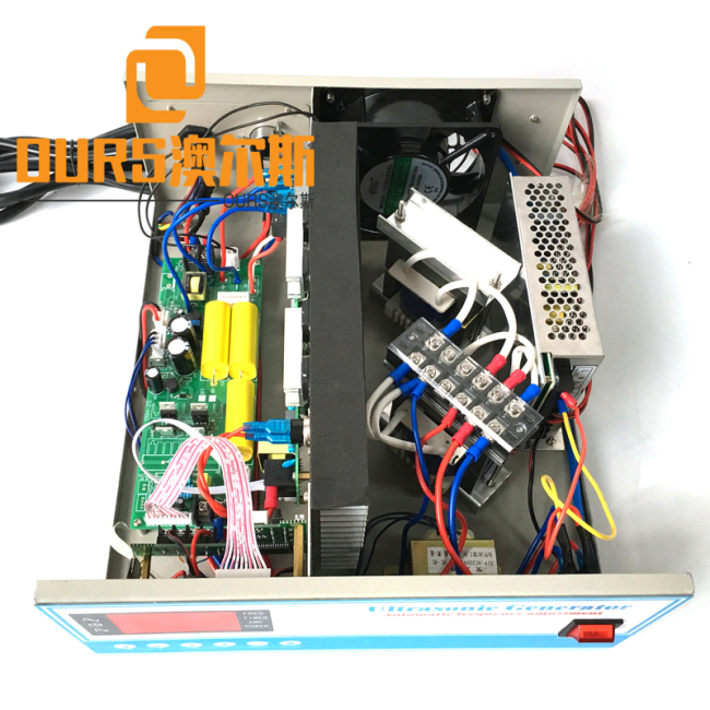 RS485 Network 6000W/20-40KHZ digital high quality ultrasonic cleaning Generator and long life