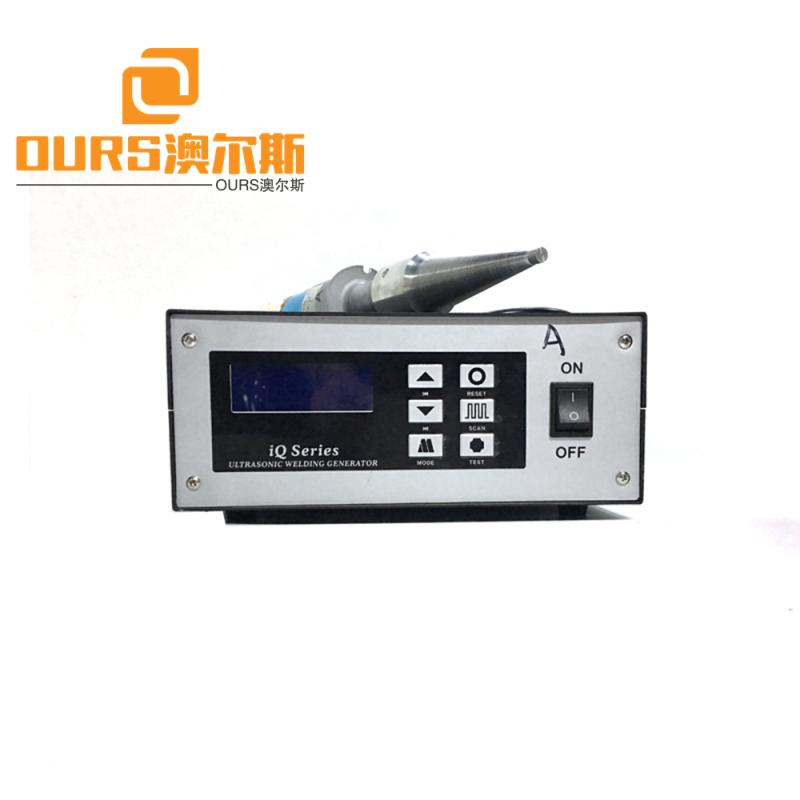 2000W power ultrasonic welding generator ultrasonic welding plastic cracks 15KHZ