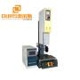 28khz Ultrasound Kitchen Scourer pad sponge welding machine by ultrasonic riveting sealing welder