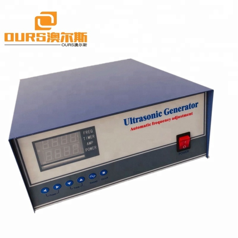 68-135khz High frequency Industry Ultrasonic Cleaning generator
