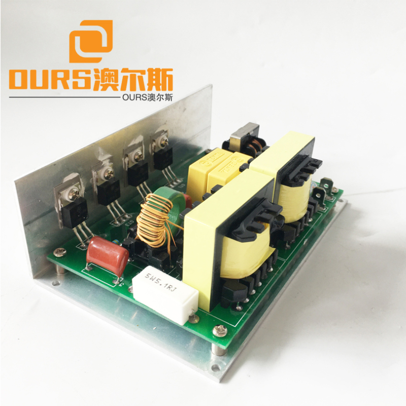 120W 40KHZ 110V or 220V Ultrasonic Electrical Circuit For Cleaning Mechanical Parts