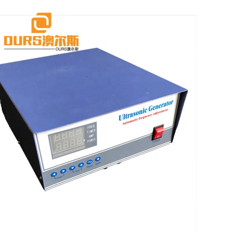 Industry Dual Frequency Wave Ultrasonic Generator 38K/80K High Frequency Submersible Transducer Box Driving Generator/Power