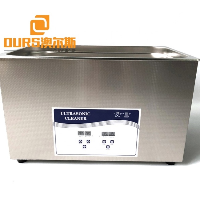 40KHZ Medical Ultrasonic Cleaner , Ultrasonic Transducer Washer For Surgical Instruments 600W Cleaning  Vibrator Tank