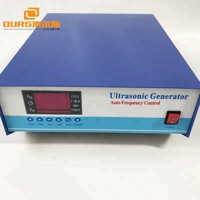 1200w China Digital High Frequency Ultrasonic Signal Generator 28khz/40khz/120khz Used In Cleaning Machine