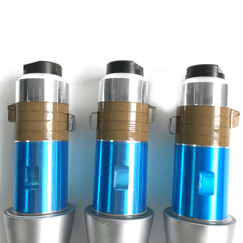 15khz Ultrasonic Welding Transducer with booster for plastic welding machine