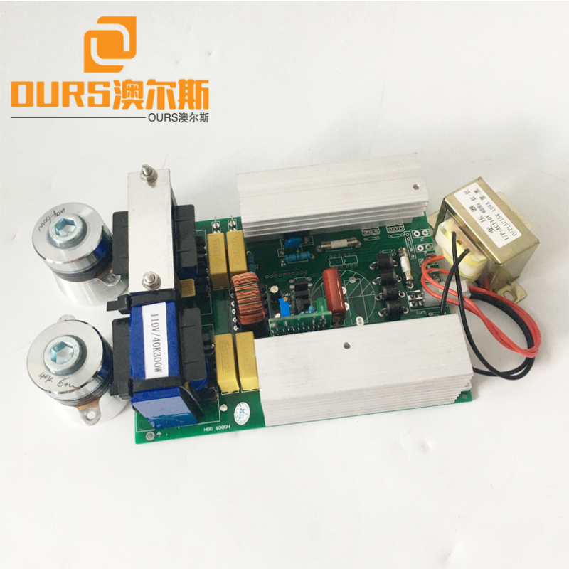 Factory sales 20KHZ/25KHZ/28KHZ 400W Single frequency ultrasonic cleaning transducer generator