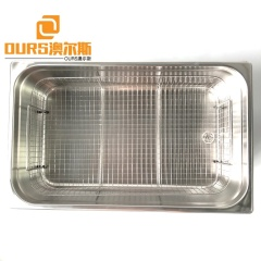 With Time Adjustable 40KHZ Power Ultrasonic Washer Industry Ultrasonic Washing Fruit Equipment 22L Transducer Washing Machine