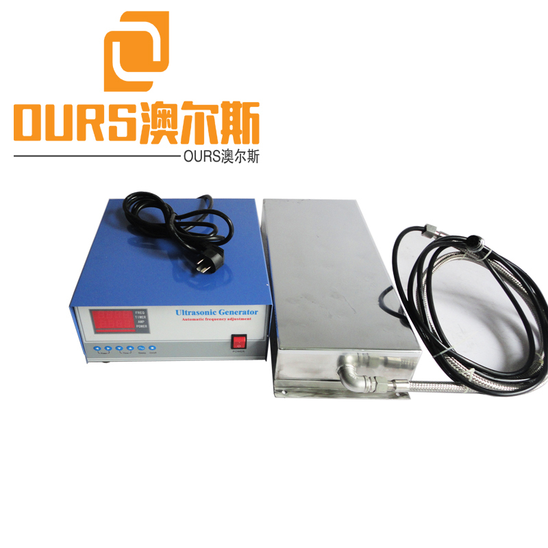 1000W 25KHZ/40khz/80khz Multi-frequency Ultrasonic Transducer Vibration Board For Industrial Cleaning