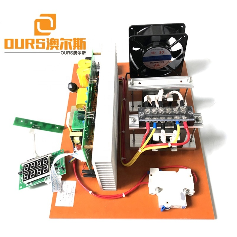 ARS-MBJ2000 28K-40K Vibration Wave Power Ultrasonic Generator PCB With Frequency And Power Adjustable For Cleaning Machine