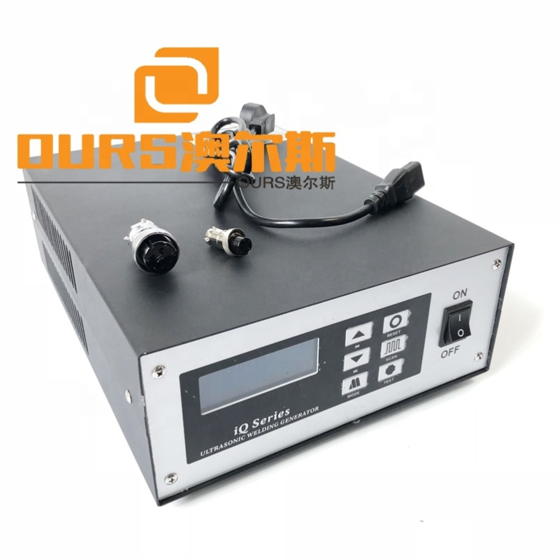 2600W 15KHZ Digital Generator Ultrasonic Plastic Welding Machine