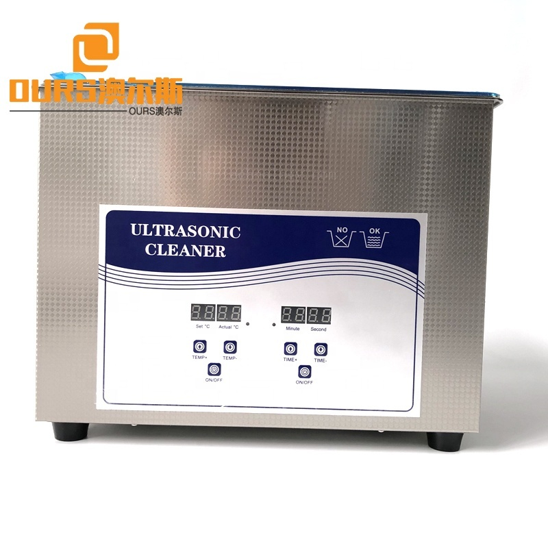 15L Automatic Laboratory Ultrasonic Industrial Cleaner For Removing Biological Fluids With Outlet Valve Ultrasound Cleaner Tank