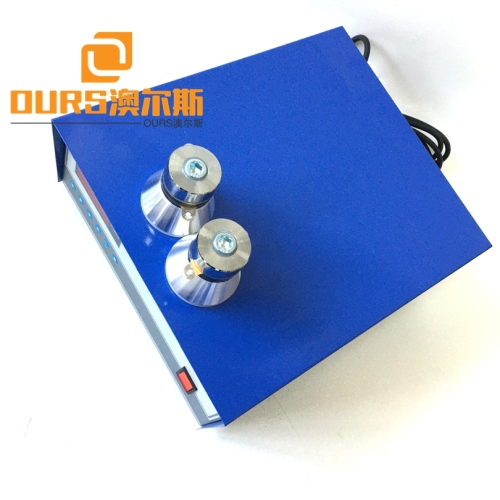 28KHZ/40KHZ 2400W Digital Ultrasonic Transducer Generator For Cleaning Precision Stamping Parts