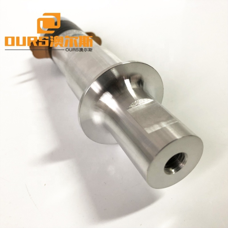 30K/500W Ultrasonic Welder Parts Piezoelectric Ultrasonic Welding Transducer PZT8 Material