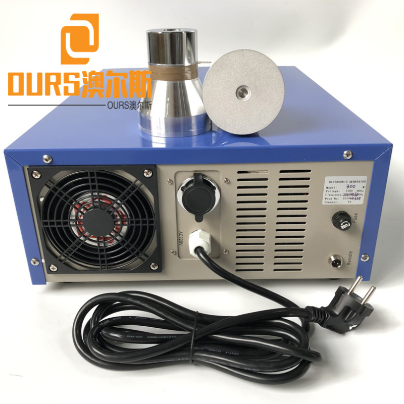 300W 600W 900W 1200W 60KHZ High Frequency Ultrasonic Sound Generator For Cleaning Industrial Precision Parts