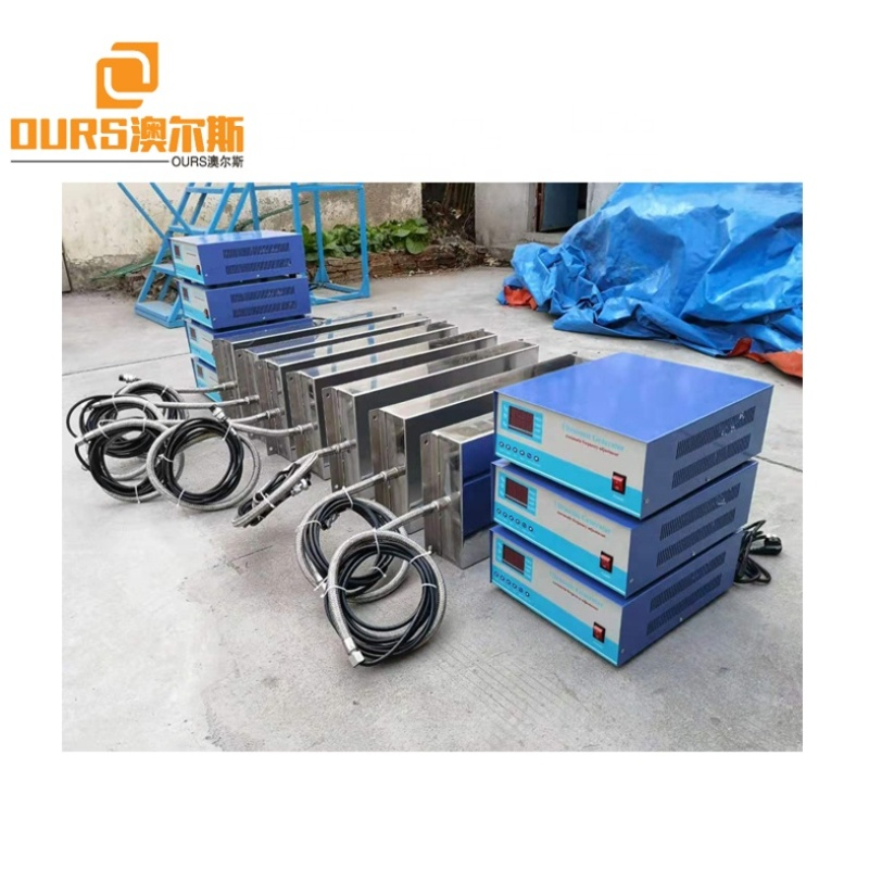 28K-40K Vibration Frequency Ultrasonic Immersible Transducer Cleaner For Metal Coating Machine/Auto Parts Cleaning
