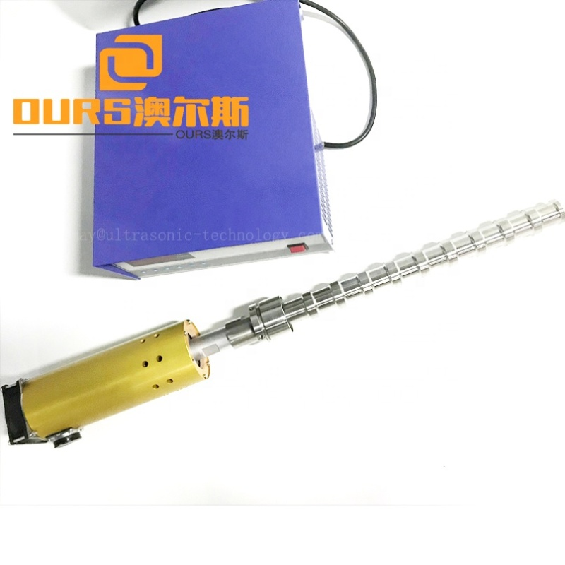 2000W 20K Vibration Sonicator Tubular Transducer For Biochemistry / Pharmaceutical Industry Ultrasonic Transducer Probe