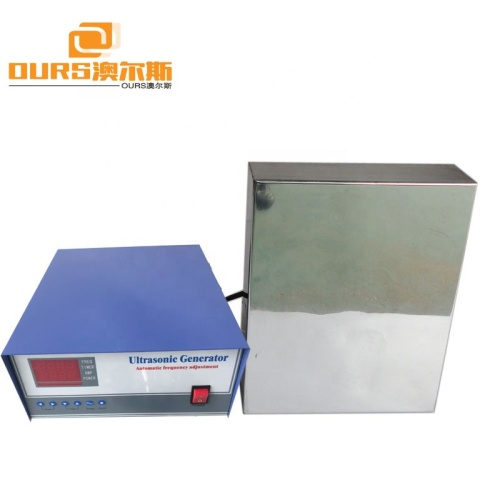 2KW High power Car Parts Auto Parts Metal Plates Cleaning Immersible Ultrasonic Transducer