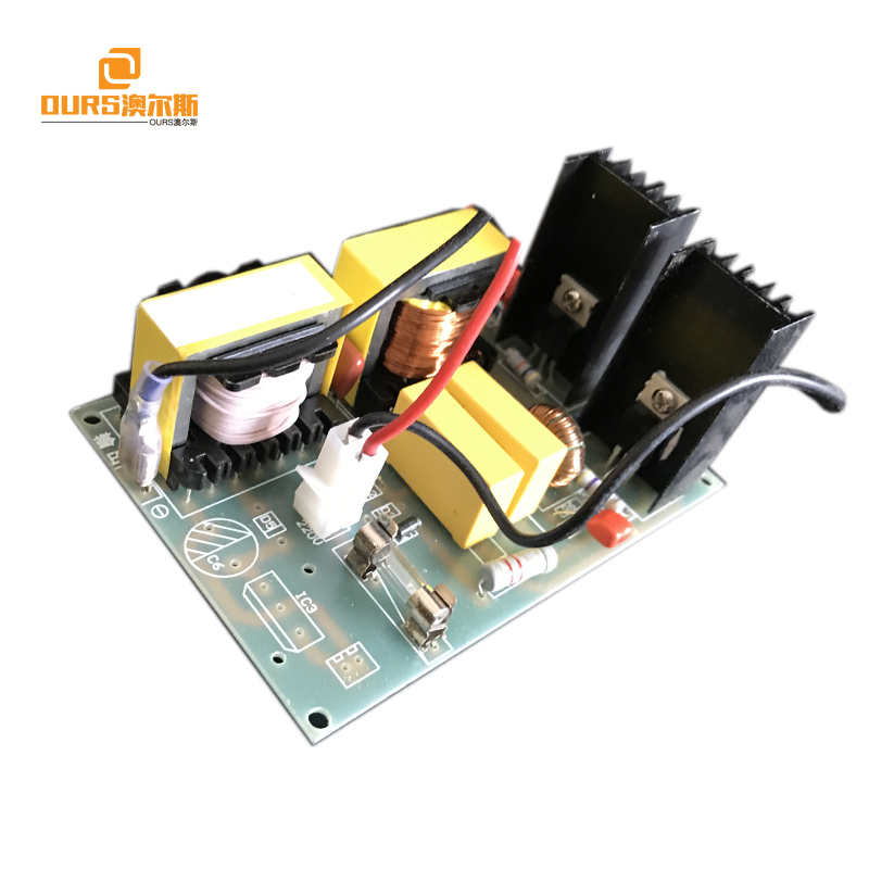 28KHz ultrasonic transducer driver PCB Circuit board 100W/220V matching Transducers for cleaning machine or cleaning equipment
