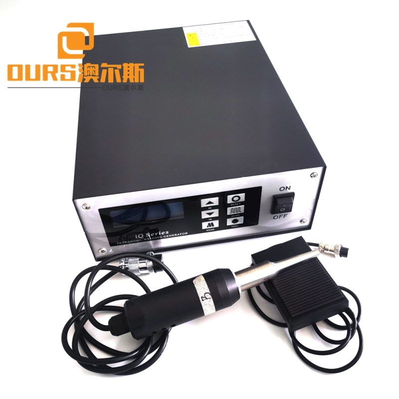28khz 600w Ultrasonic Spot Welding Machine With Titanium Horn For Canopy And Tent Material