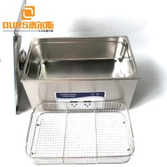 Industrial Ultrasonic Transducer Cleaner 40Khz 22L Used For  Clean Semiconductor Chip Circuit Board