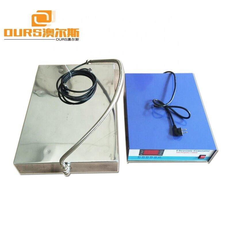 1200W Immersible Ultrasonic Vibration Transducer 40KHz / 28KHz And Ultrasonic Cleaner Power Generator
