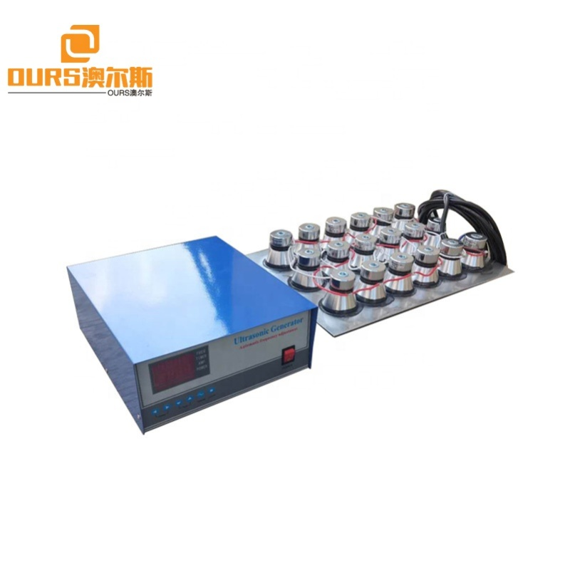 1200W 28KHZ Waterproof Immersible Ultrasonic Transducer Cleaning Pack With Generator For Electroplating Plant Cleaning Rust Oil