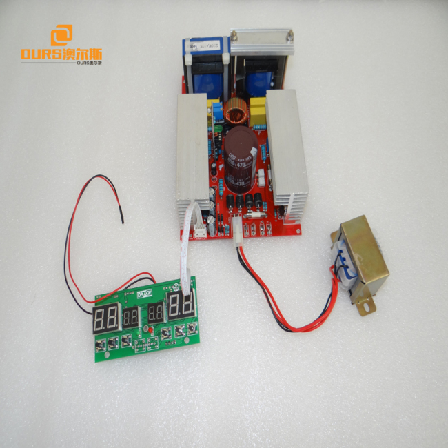 300W Ultrasonic generator PCB +display board ,Ultrasonic frequency current adjustable Variable forUltrasonic Generator