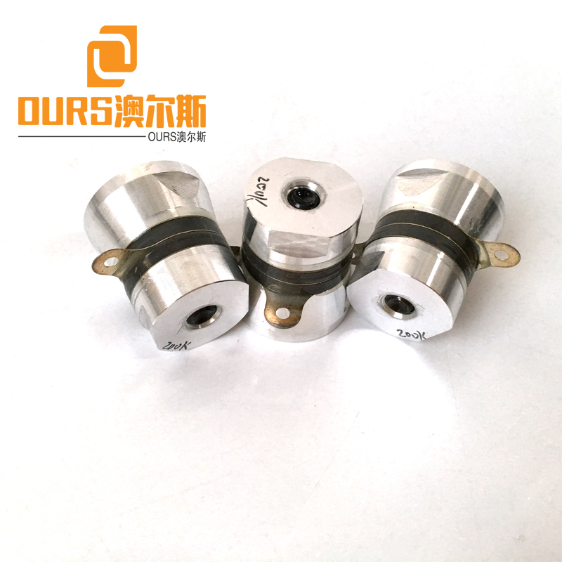 200KHZ High Frequency Ultrasonic Cleaning Power Transducers For Ultrasonic Cleaning Equipment Parts