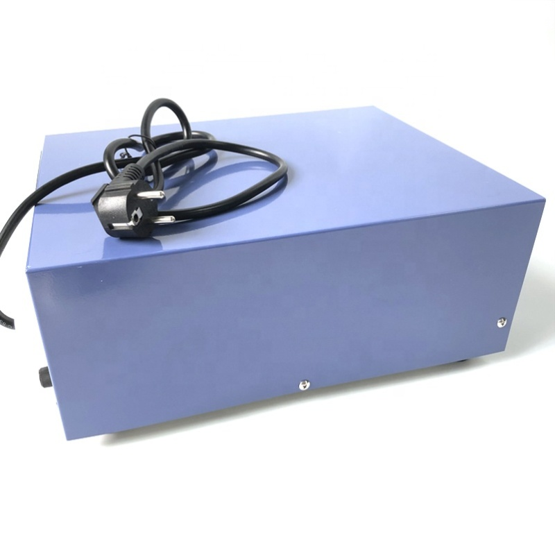 28K 2000W Waterproof Transducer Ultrasonic Driving Generator Cleaning Power Supply Box With Power And Time Adjustable