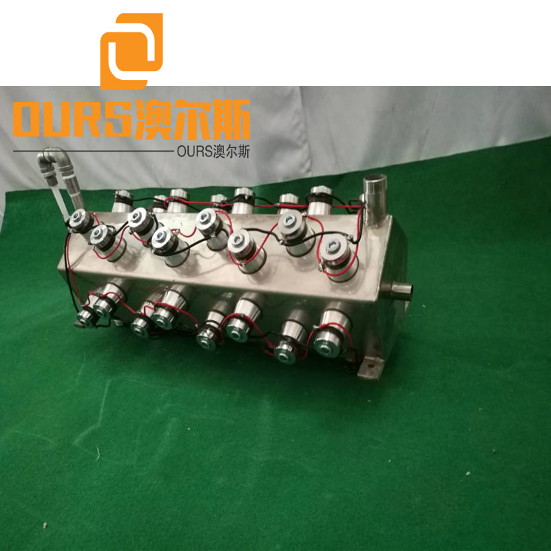 28KHZ/25KHZ 7000W High Power Electroplating Submersible Ultrasonic Component Cleaning Machine
