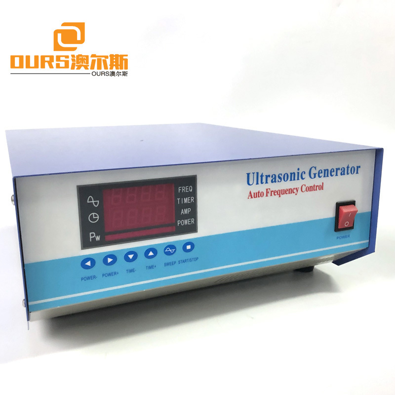 28KHz 60KHz 70KHz 84KHz 300W Multi Frequency Ultrasonic Cleaning Generator Ultrasonic Transducer Driver