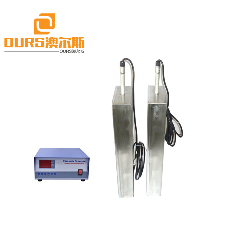 28KHz 600w ultrasonic transducer immersible pack in ultrasonic cleaning machine