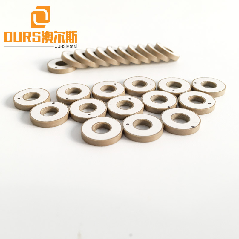 10x5x2mm High Frequency PZT8 Ring Dental Piezoelectric Ceramic