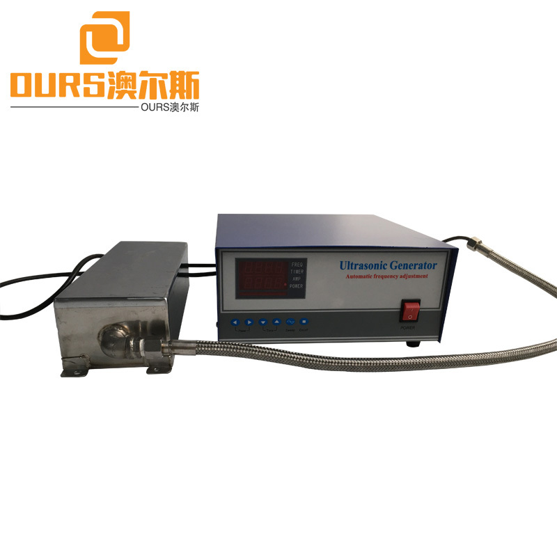 25KHZ/40khz/80khz Multi-frequency 1000W Immersible Ultrasonic Cleaning Transducer And Generator
