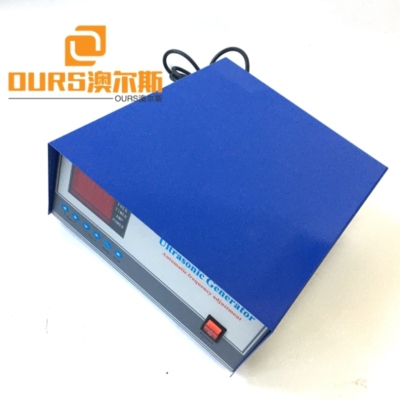 28KHZ 300W 220V or 110V  Ultrasonic Cleaning Sound Generator For Waterproof Immersible Ultrasonic Transducer