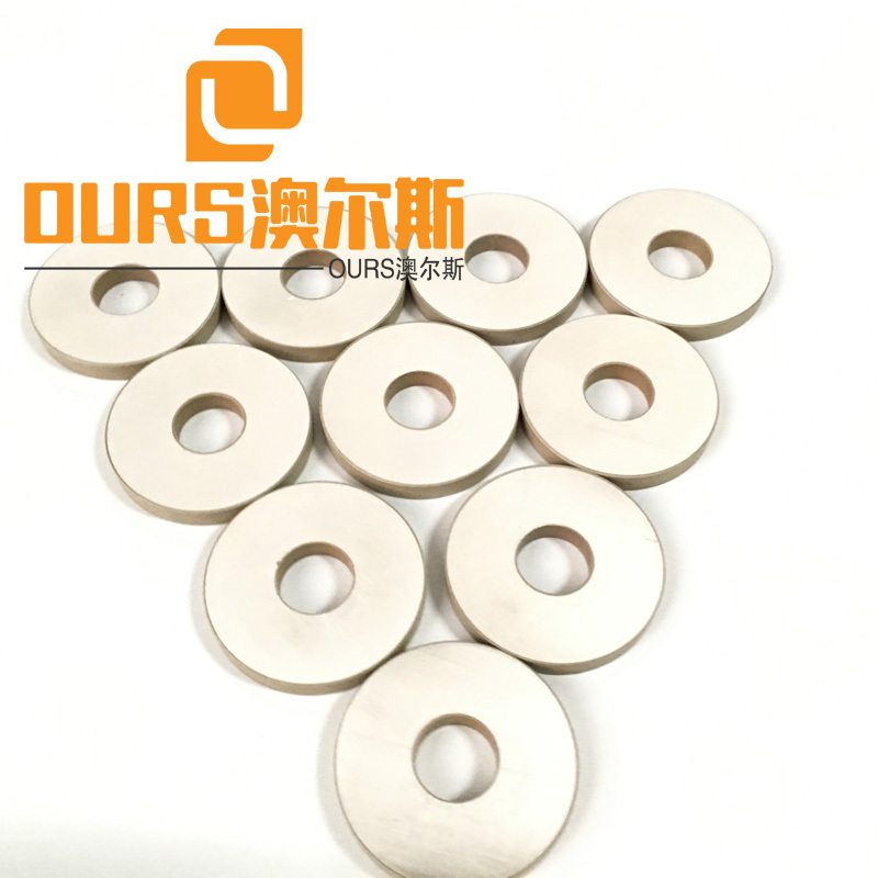 50X20X5mm PZT8 Ultrasonic Piezoelectric transducer Ceramic Piezo Ring For face mask machine