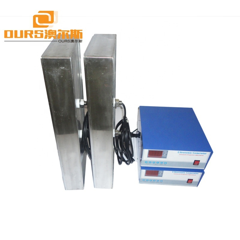 28K 2400W Immersible ultrasonic cleaning transducer vibration plate / cleaning high quality ultrasonic transducer SUS316 Plate