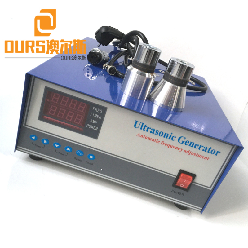 20KHZ/25KHZ/28KHZ/40KHZ 600W High Quality Sweep Ultrasonic Generator For Waterproof Immersible Ultrasonic Cleaner