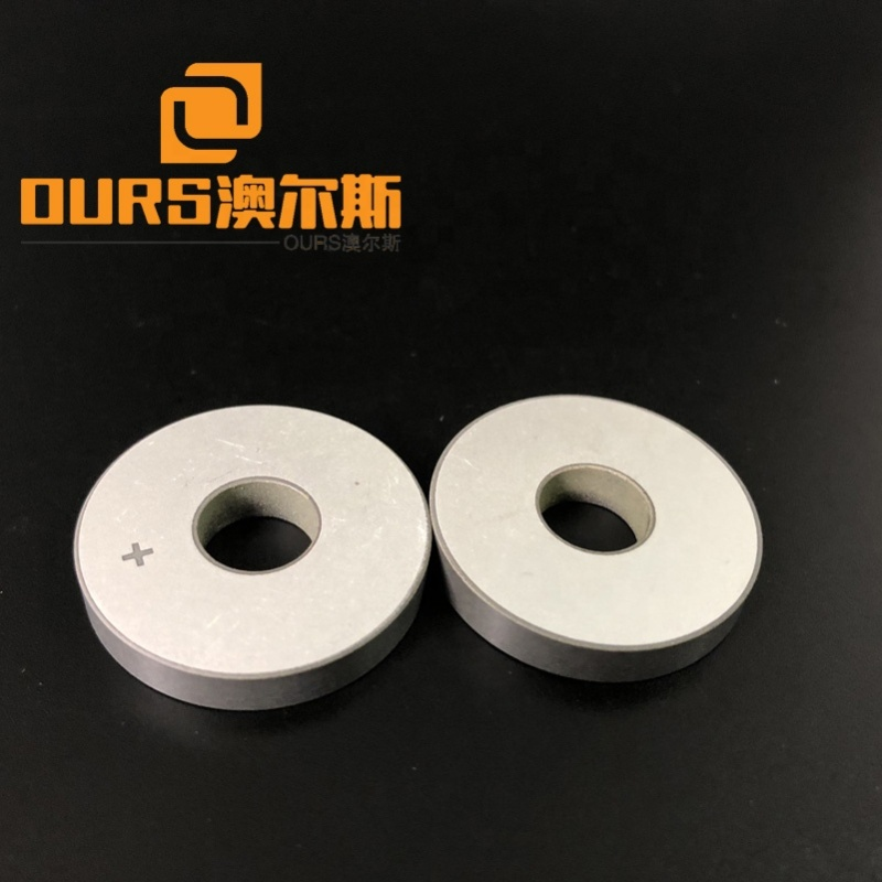 High Frequency Piezoelectric Element PZT Ceramic Thickness 5mm Piezo Ceramic