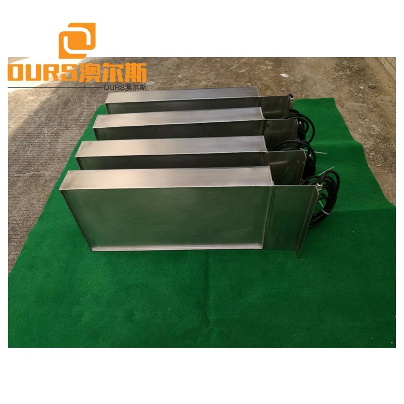 28K 3000W Side Tank Mounted Immersible Ultrasonic Transducer And Generator For Engine Blocks Ultrasonic Cleaning Machine