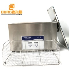 With Heating/Time Control Ultrasonic Transducer Cleaner For Medical Dental Lab Surgical Instruments Metal Plastic Parts Cleaning