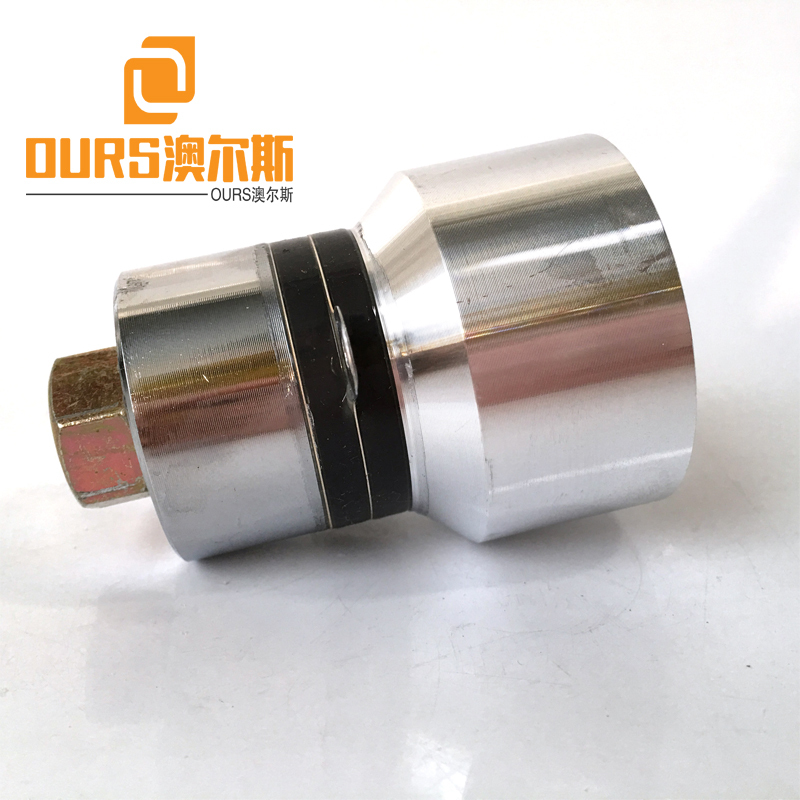 68KHZ 60W High Frequency And High Performance Ultrasonic Cleaning Transducer With Hole