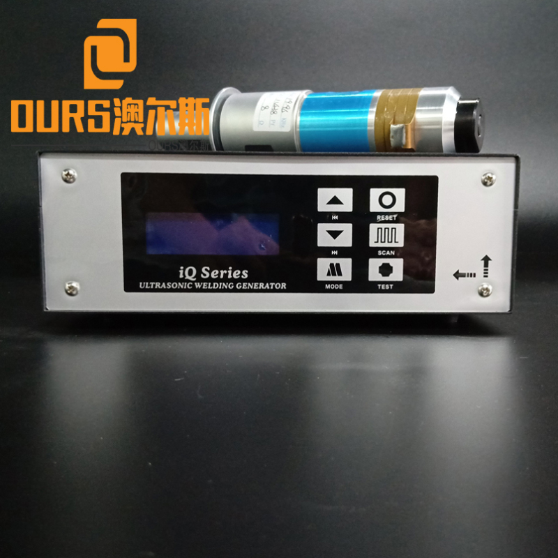 Factory direct sales 20KHZ 2000W Disposable Face Mask Ultrasonic Welding generator and transducer with booster
