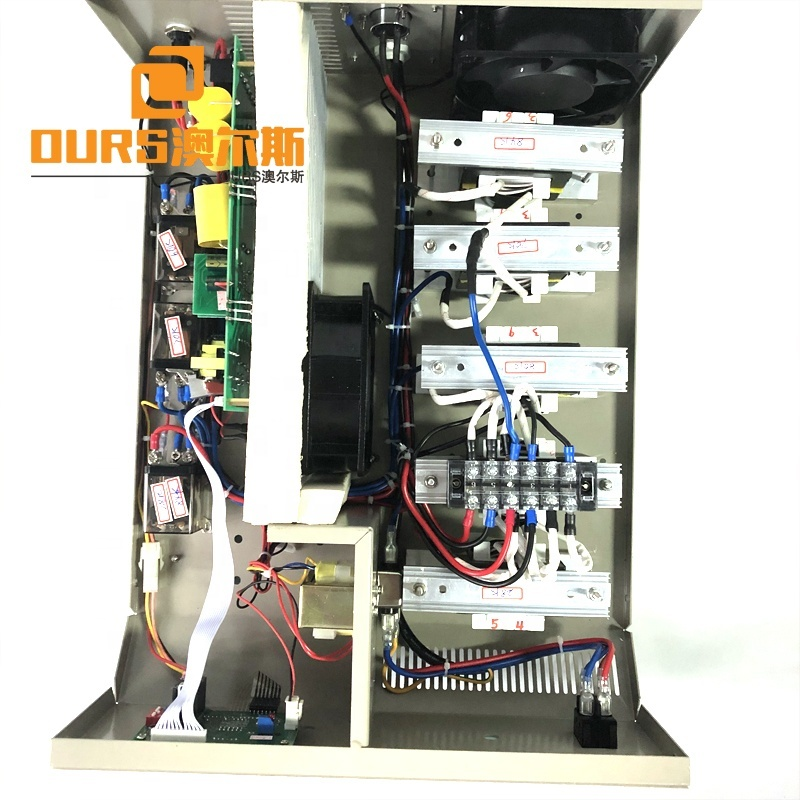 28K/60K/70K/84K Industry Cleaning Ultrasonic Multi-Frequency Power Generator Fixed Frequency Switching Power Supply Box