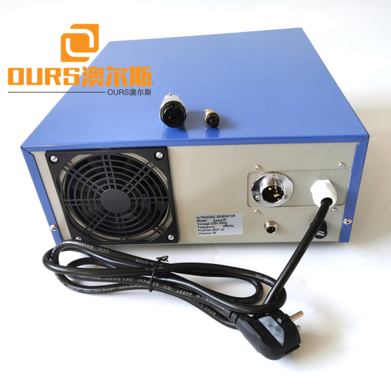 900w Ultrasonic Generator  Drive 28khz Industrial Cleaning Submersible Ultrasonic Transducer