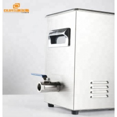 Volume 3.2Liter Portable Ultrasonic Jewelry Cleaner Ultra High Frequency 110V / 220V Voltage